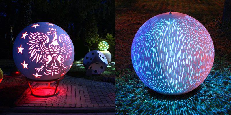 Oświetlenie parkowe miejskie