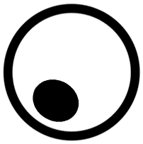 ikona pustej kuli